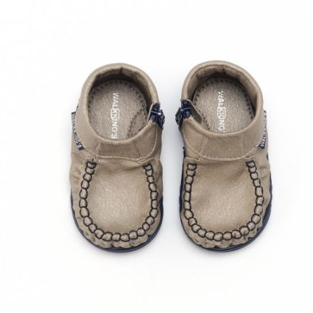 Walkkings-Zip-Around-Baby-Kids-Todder-First-Step-Shoes-Beige-Top-e1494148523385