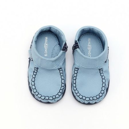 Walkkings-Zip-Around-Baby-Kids-Todder-First-Step-Shoes-Light-Blue-Top-e1494149864121